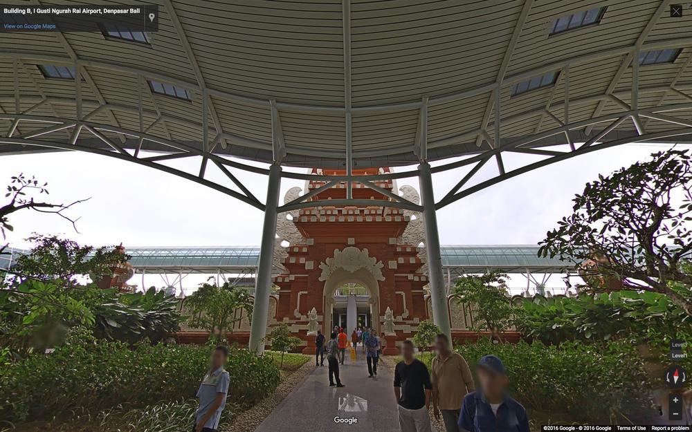 Bali airport on Google Indoor Maps