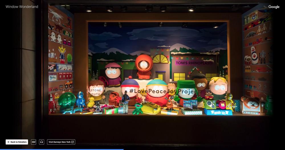 Barneys - Window Wonderland