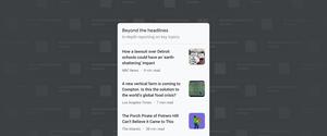 Beyond the headlines on Google News