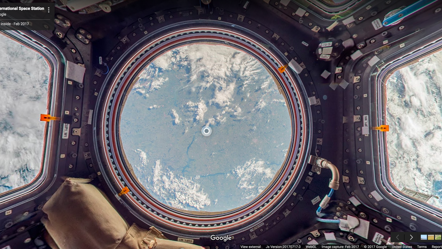 blog.google - Welcome to Outer Space View