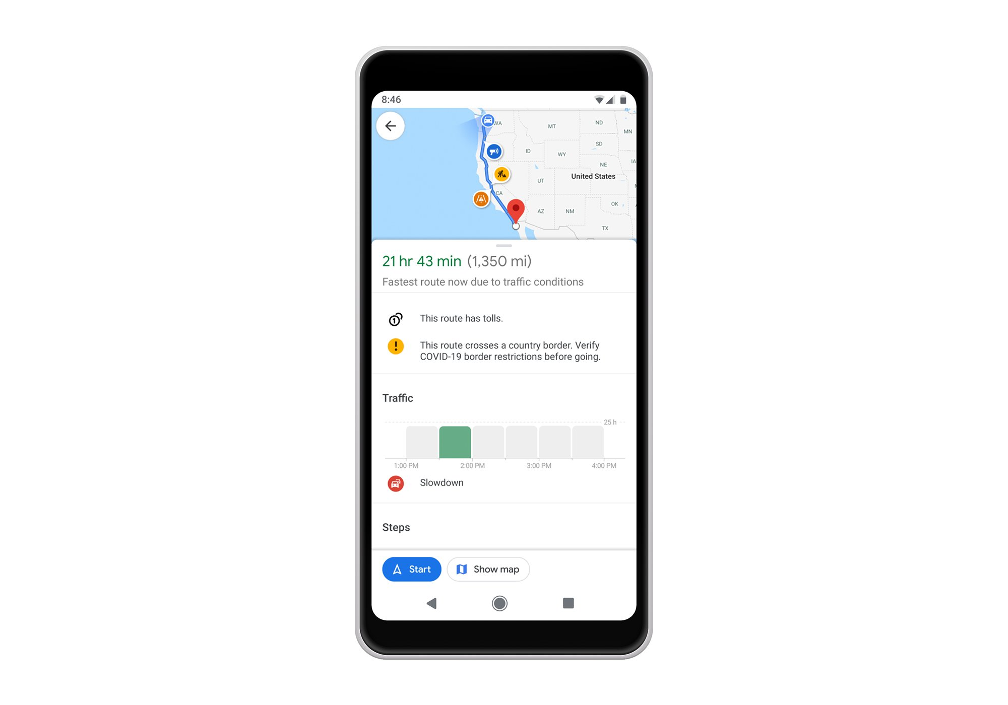 Get around safely with these new Google Maps features