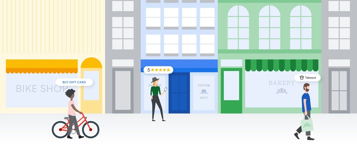 Support local businesses with Google Maps