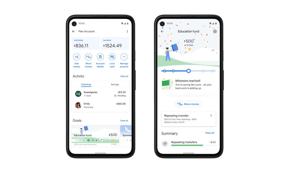 Plex account within Google Pay