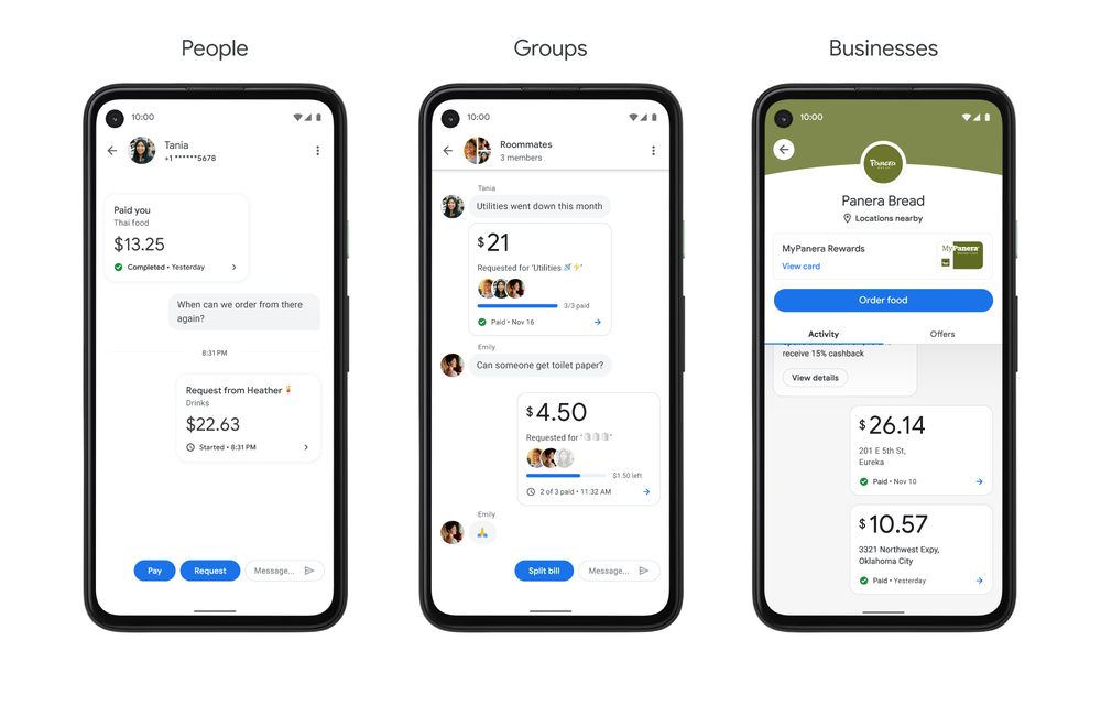 How you can see past transactions in Google Pay