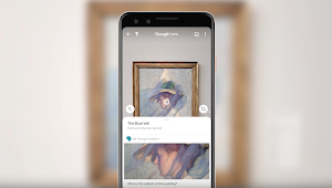 """The Blue Veil"" as seen with Google Lens"