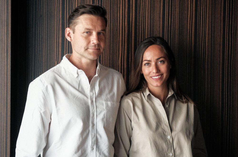 Henrik Haaland Jahren and Hermine Bonde Jahren, founders of Braive