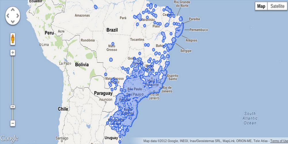 Brazil Street View after