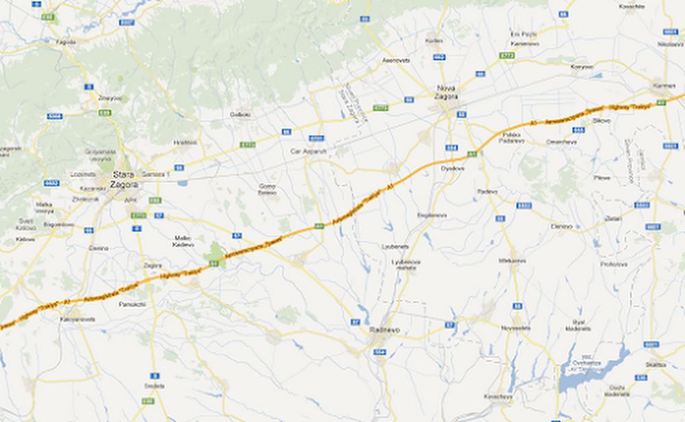 Bulgaria Trakiya highway