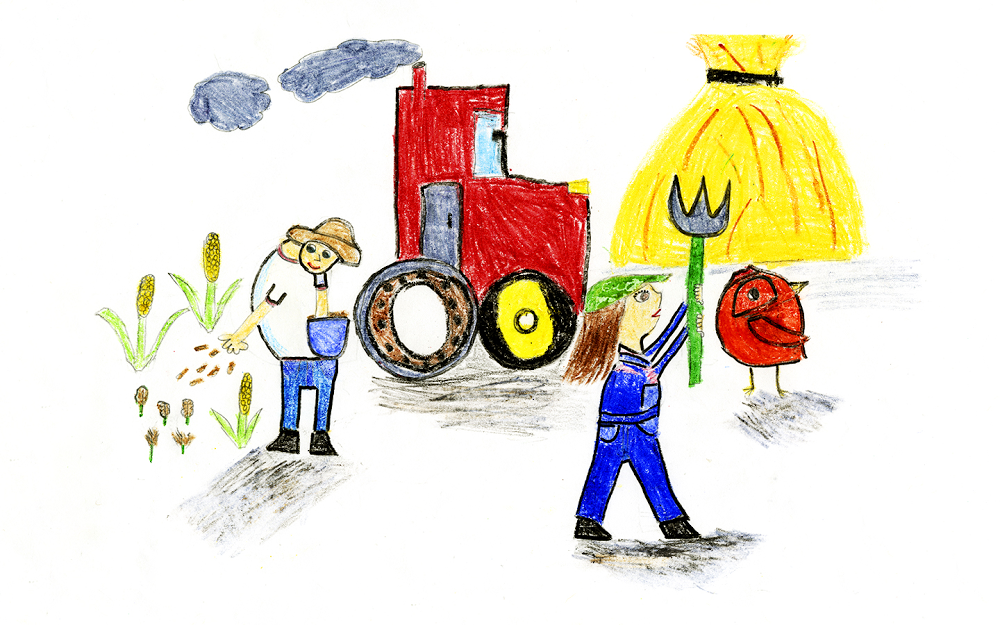 Doodle for Google: Farmers
