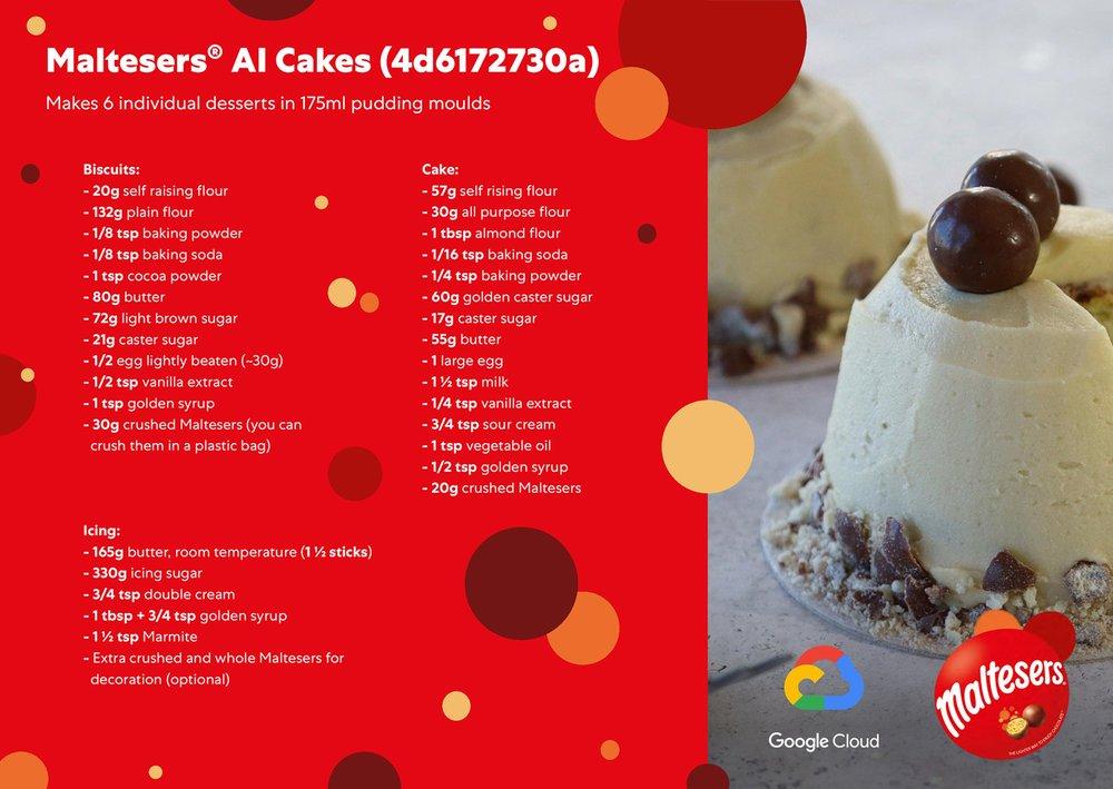 Recipe for Malteser AI cake