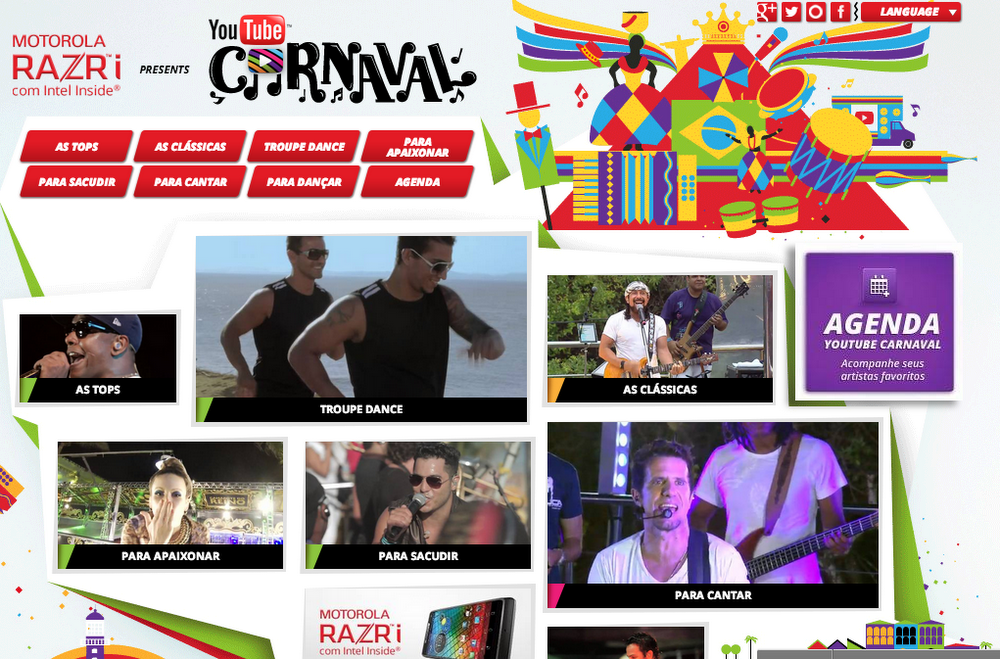Carnival page
