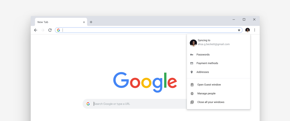 Tired of memorizing p4ssw0rd$? The new Chrome has your back