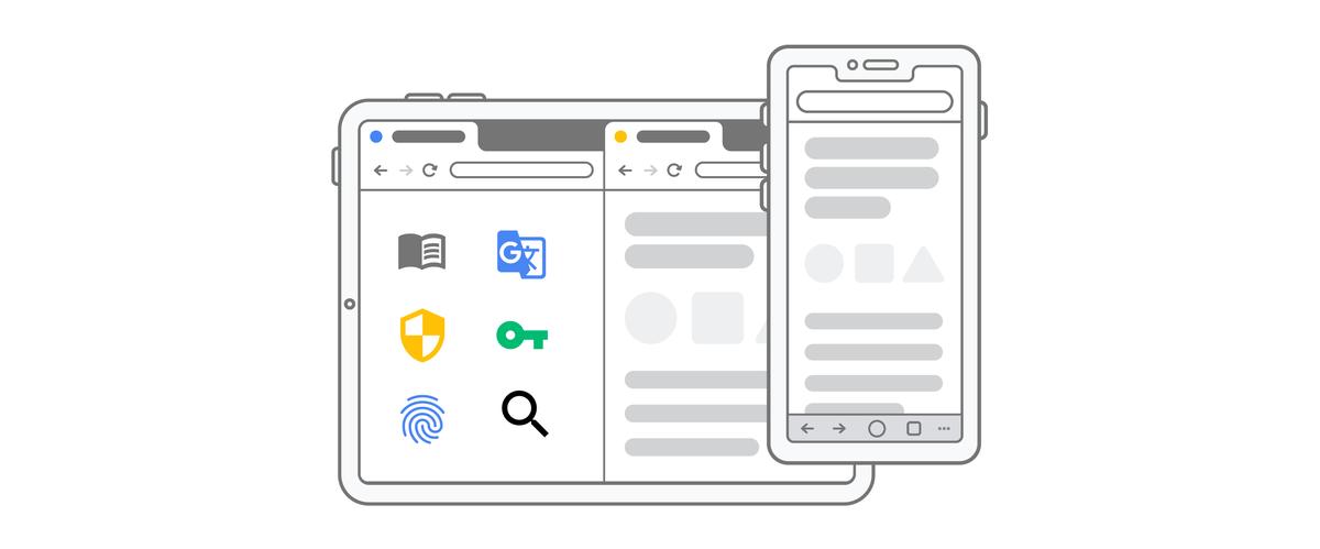 Chrome on iOS Header