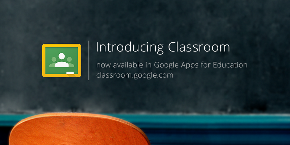 Google Classroom launch in 2014