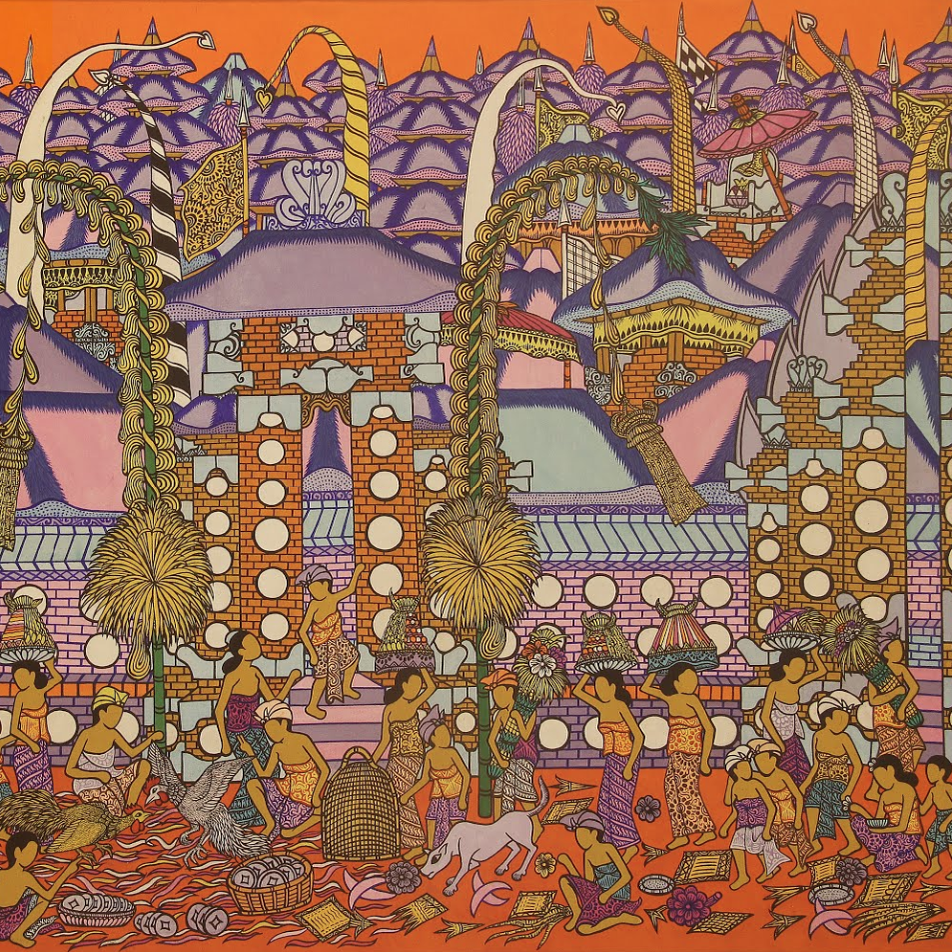 Cockfighting I Ketut Tagen, 1990 - 1990 (Collection: ARMA Museum)