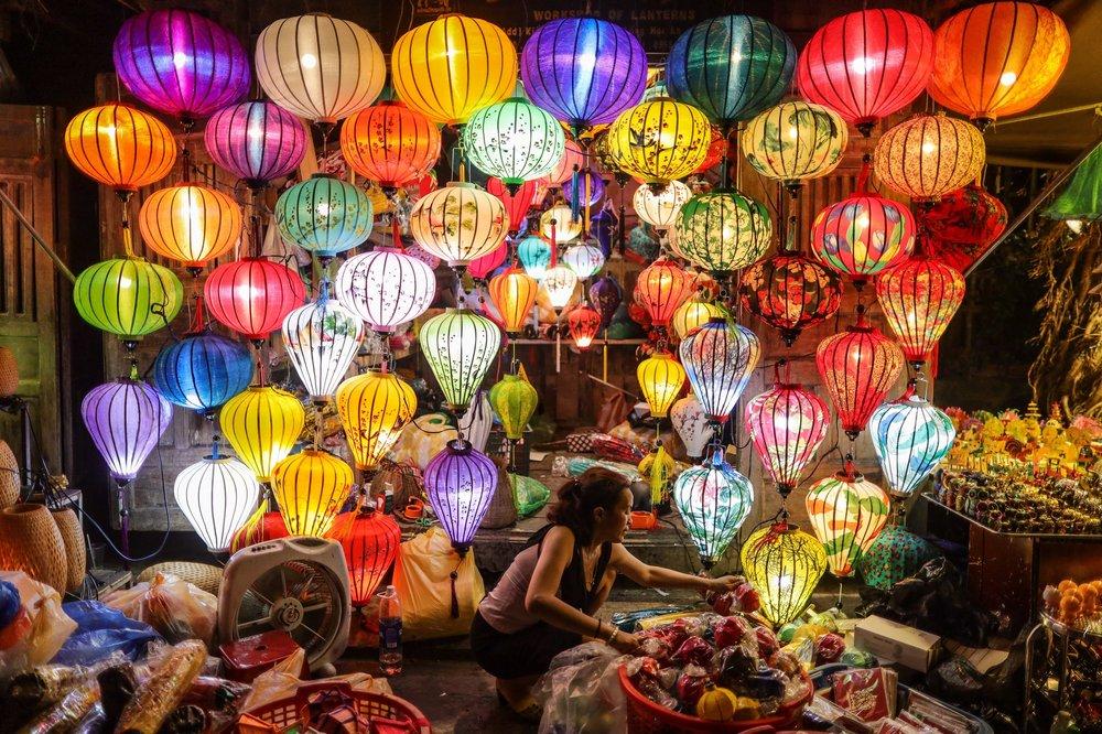 Lanterns at Hoi An market