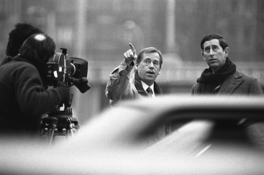 Vaclav Havel and Prince Charles