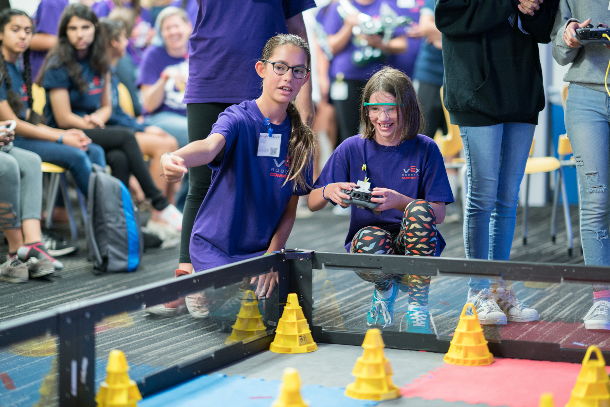 Leveling the STEM playing field for girls, one robot at a time