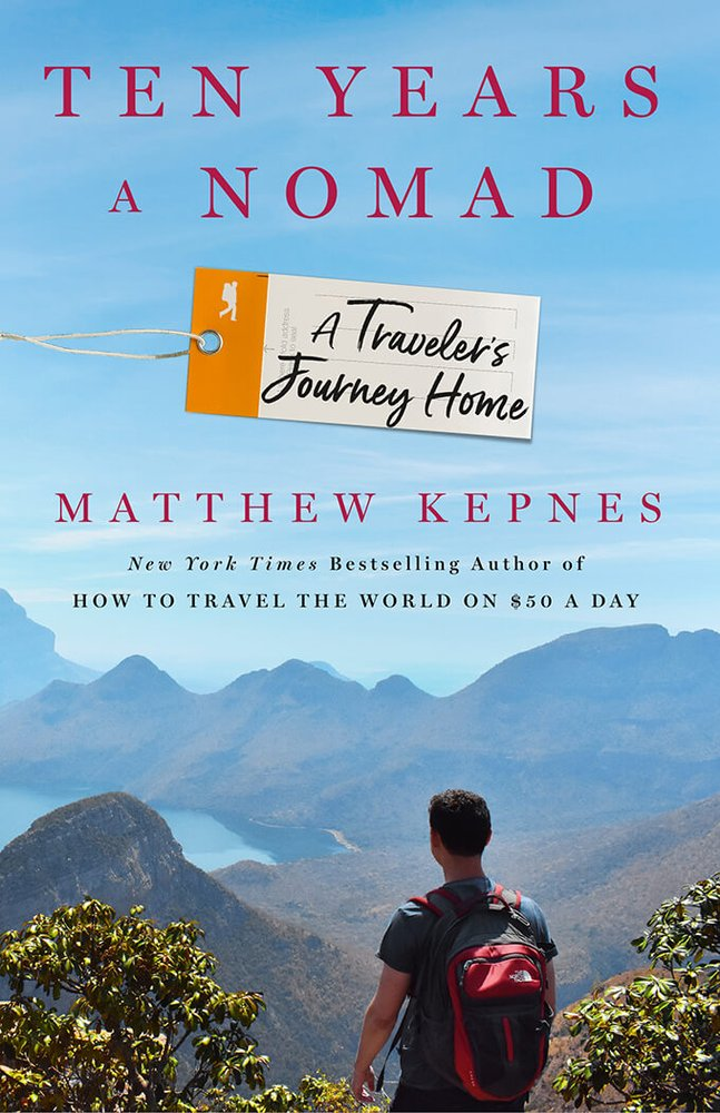 Cover of Matt's Ten Years A Nomad book