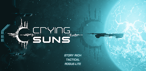 A promotional image for the video game Crying Suns.