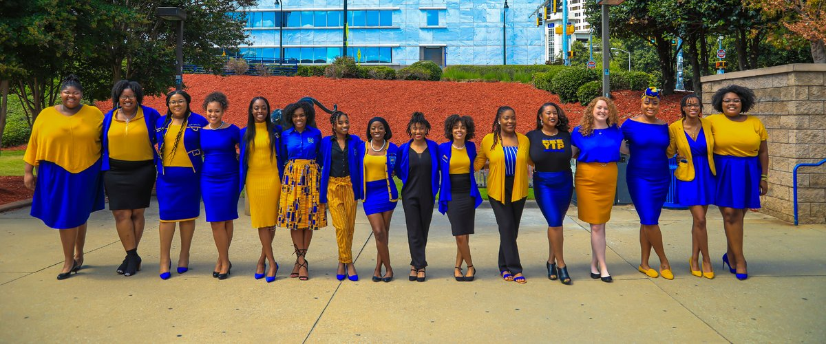 Black Women Lead sorority photo