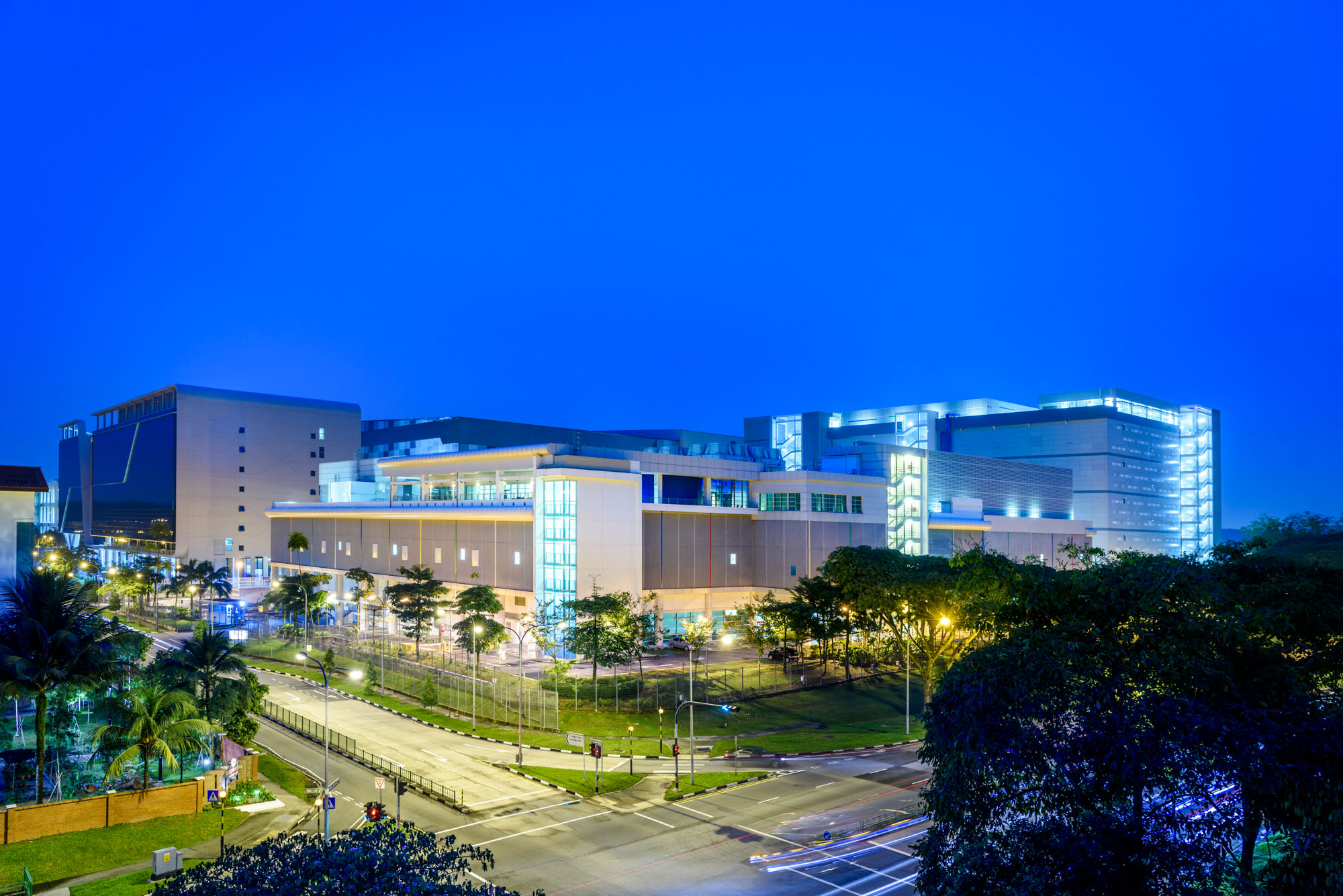 Building a new data center in Singapore