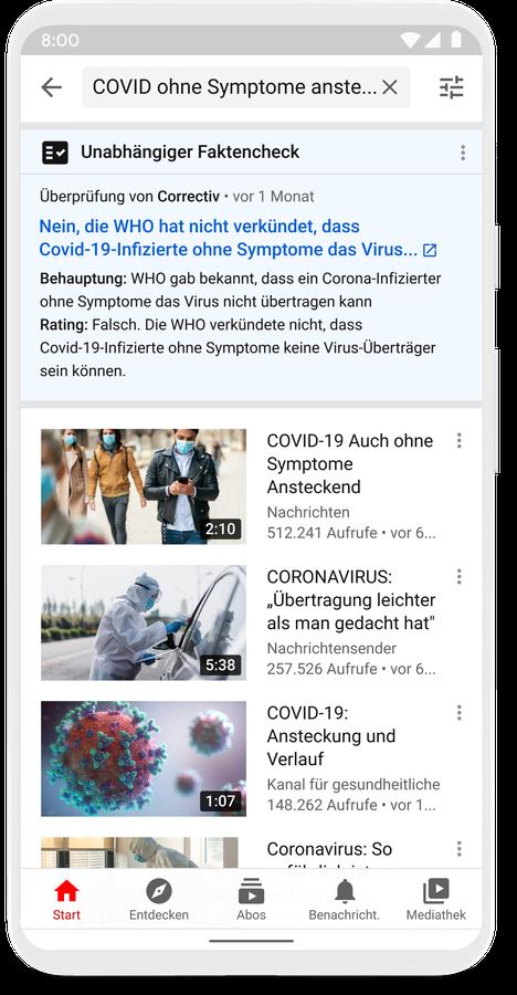 YouTube weitet Faktenchecks auf Deutschland aus
