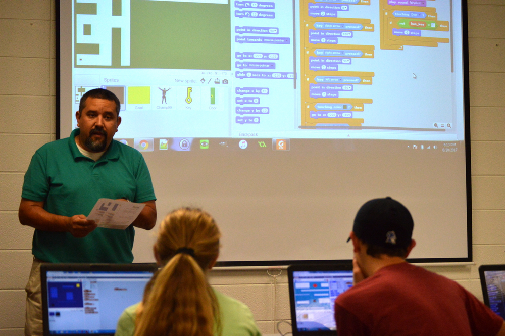 Picture of Jason Gonzales, a technology specialist from Muskogee Public Library