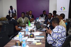 Participants of UX Masterclass in Lagos