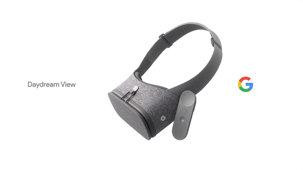 Introducing Daydream View, VR Headset by Google