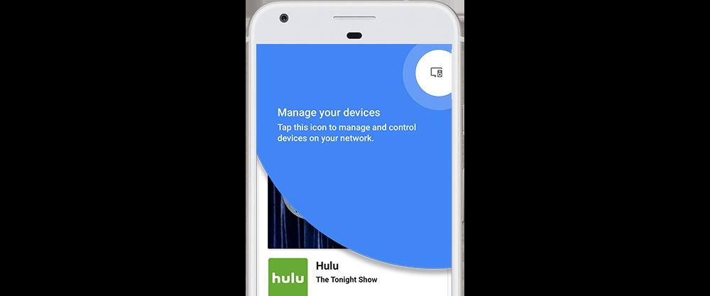 Google Home app Device Management
