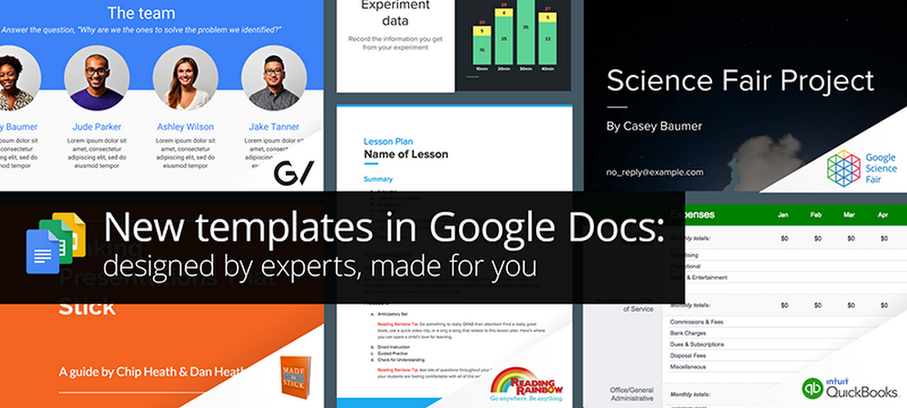 New Templates In Google Docs Designed By Experts Made For You