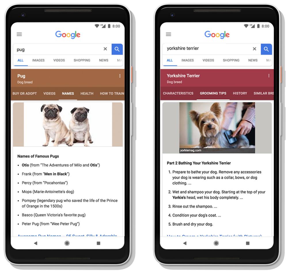 Google s'approprie les contenus pour répondre directement aux visiteurs et les garder sur ses pages.