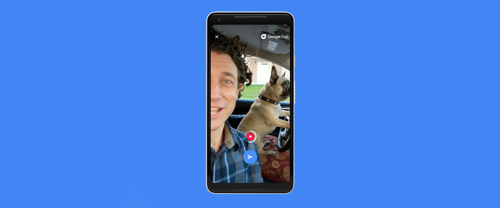 Miss a call—but not the moment—with video messages on Google Duo