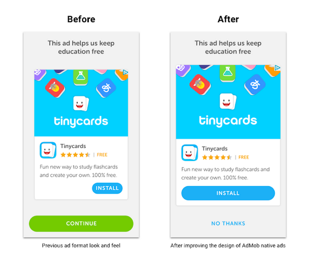 Duolingo keeps education free with AdMob native ads