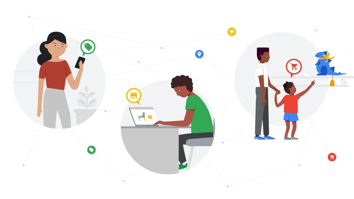Google Marketing Live illustration