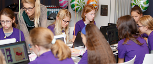 Teaching computer science to girls in Europe