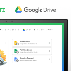 Drive & Evernote