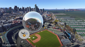 Search, explore, and more with Google Earth VR