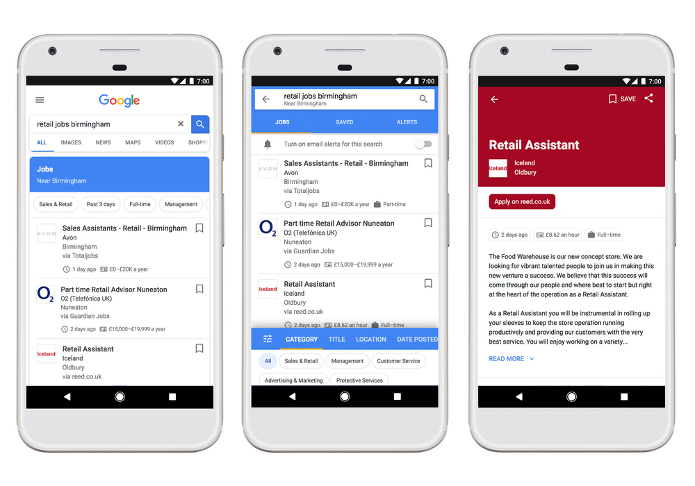 Google's mega-helpful job search tool finally arrives in the United Kingdom