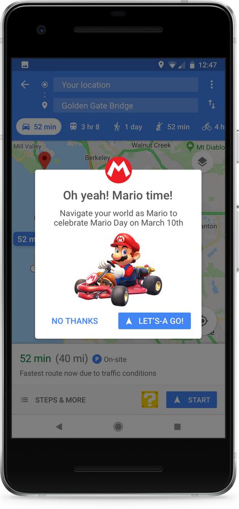Putting Mario on the Map