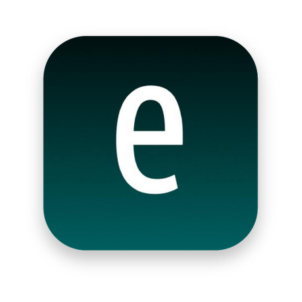 "The Envision AI logo with a dark green background and ""e"" in the center."
