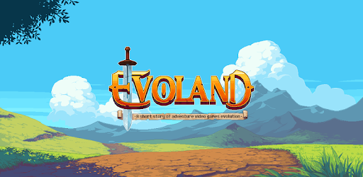 The logo of the video game Evoland