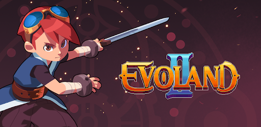 A promotional image for the video game Evoland II.