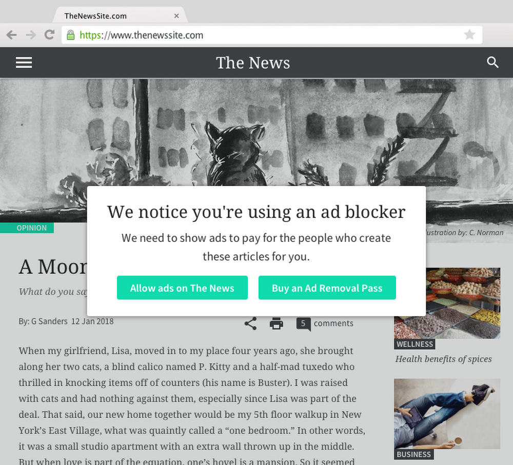 Helping publishers recover lost revenue from ad blocking
