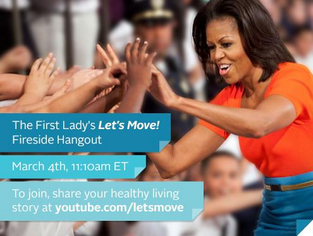 FLOTUS Lets Move