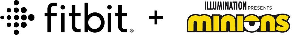 Fitbit logo and Illuminations: Minions logo