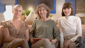three women who participated in Google's training program Ateliers Numériques