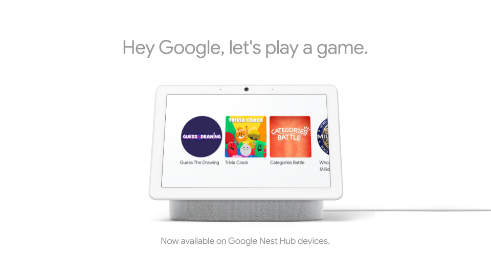 Google Assistant Smart Display Games.png