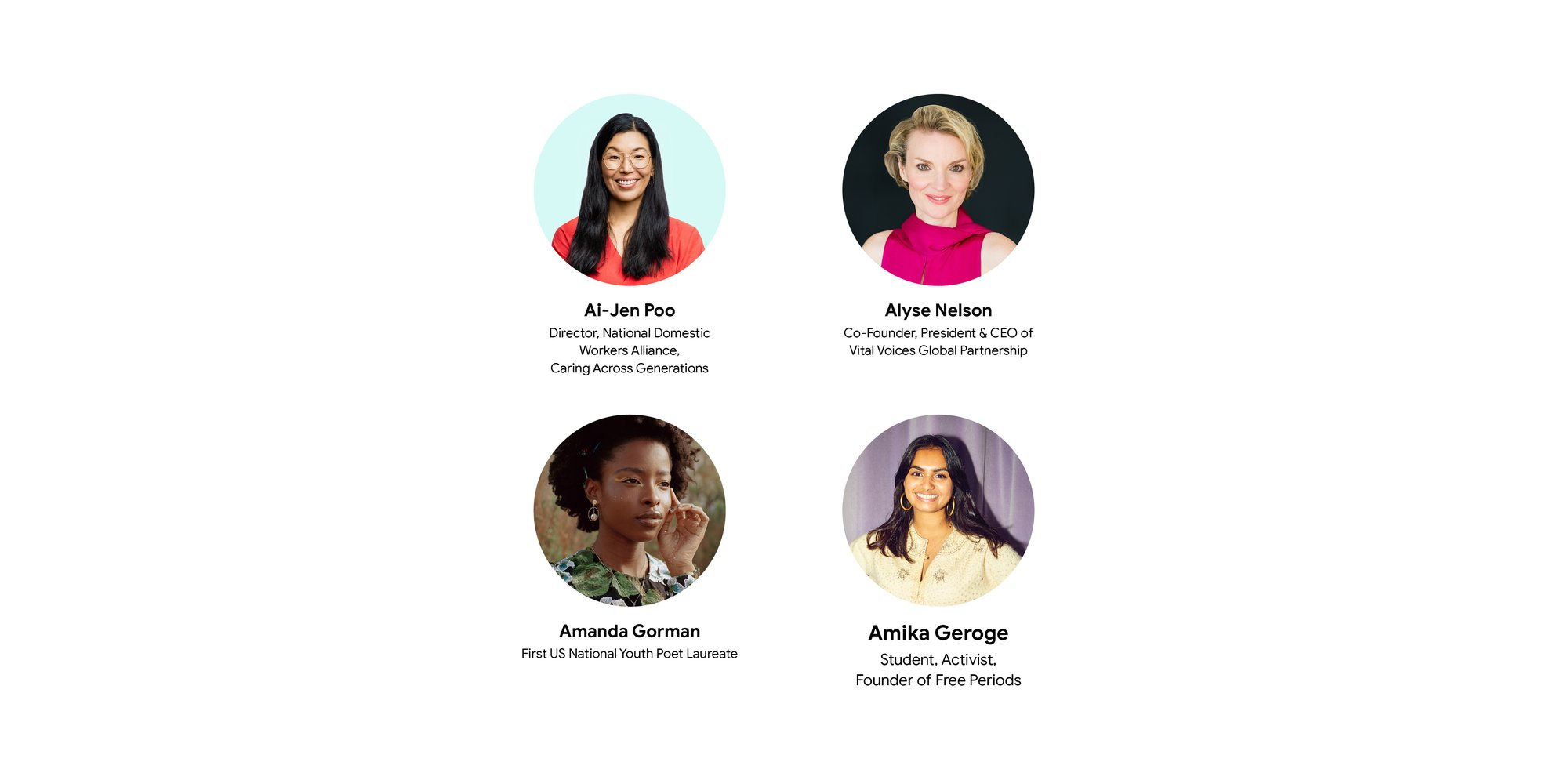Google's call for a better future for women and girls